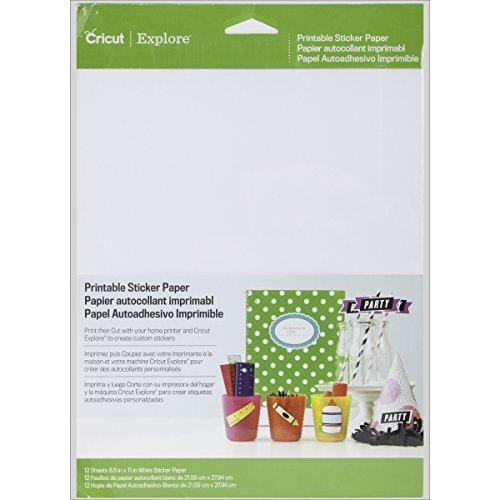 Best Cricut Printable Sticker Paper