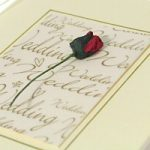 Making Rosebud Wedding Invitation